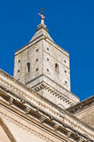 Belltower Cathedral. Matera. Basilicata. Italy. Royalty Free Stock Image