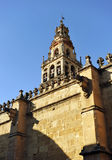 Belltower of the Cathedral Mosque of Cordoba, Spain Stock Image