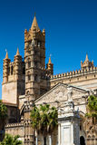 Belltower of the Cathedral of Palermo Royalty Free Stock Images