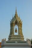 Belltower chez Wat Pho Bangkok Thailand Photos stock