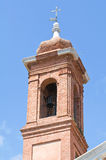 Belltower church. Stock Photo