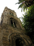 Belltower of church Martorana in Palermo, Sicily Royalty Free Stock Photo