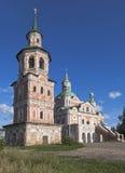 Belltower with the church of Simeon Stylites in Veliky Ustyug, Vologda region Stock Image