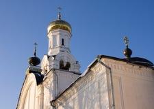 Belltower de cathédrale de Nikolsky, Rogachevo, Russie Image stock
