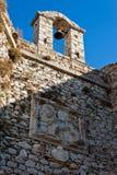 Belltower de la iglesia de la fortaleza Imagenes de archivo