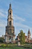 Belltower de la iglesia de Nikita Velikomuchenik Fotografía de archivo libre de regalías