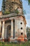 Belltower de la iglesia de Nikita Velikomuchenik Imagen de archivo