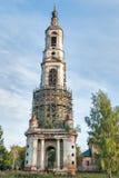 Belltower de la iglesia de Nikita Velikomuchenik Foto de archivo libre de regalías