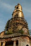 Belltower de la iglesia de Nikita Velikomuchenik Rusia Imagen de archivo libre de regalías
