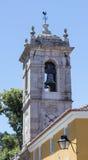 Belltower in de stad van Sintra, Portugal stock fotografie
