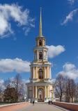 Belltower del Cremlino di Rjazan' La Russia centrale Fotografia Stock