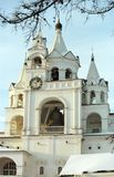 Belltower del monastero Immagini Stock Libere da Diritti
