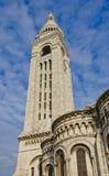 Belltower della basilica del cuore sacro di Parigi (1914) Fotografia Stock