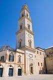 Belltower della chiesa del duomo. Lecce. La Puglia. L'Italia. Fotografie Stock Libere da Diritti