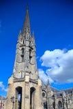 Belltower der Saint-Michel-Basilika, Bordeaux Stockfotografie