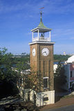 Belltower des Reis-Museums in historischer Ufergegend Georgetowns, Sc Lizenzfreies Stockfoto