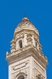 Belltower of Duomo Church. Lecce. Puglia. Italy. Stock Images