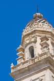 Belltower of Duomo Church. Lecce. Puglia. Italy. Royalty Free Stock Image