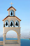 Belltower grec Photos stock