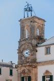 Belltower Italien Puglia Martina Franca Stockbilder