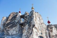 Belltower jama monaster fotografia royalty free