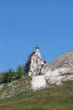 Belltower jama monaster obrazy royalty free