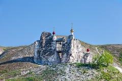 Belltower jama monaster w Kostomarovo obraz stock