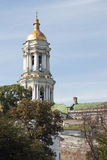 Belltower in Kiev-Pechersk Lavra Stock Photography