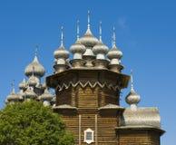 belltower kościelny churchyard wyspy Karelia kizhi preobrazhenskiy Zdjęcie Stock