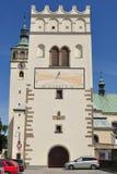 Belltower Lipnik, τσεχικά Στοκ φωτογραφίες με δικαίωμα ελεύθερης χρήσης