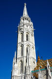 Belltower Of Matthias Church In Budapest Stock Image
