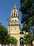 Belltower of the Mosque-Cathedral of Cordoba Royalty Free Stock Photos