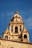 Belltower in Murcia, Spain stock image