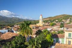 Belltower Museo de la Lucha Contra Bandidos, Trinidad, Kuba Fotografering för Bildbyråer