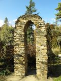 Belltower naast St Patrick's Kapel in Hogsback-dorp, Zuid-Afrika royalty-vrije stock afbeelding
