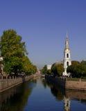 Belltower of Nikolo-Bogojavlenskiy Cathedral Stock Photography