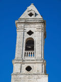 Belltower in oldtown of Bari. Apulia. Stock Photos