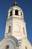Belltower of Orthodox church Stock Image
