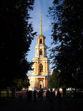Belltower of the Ryazan Kremlin. Cathedral belltower of the Ryazan Kremlin Royalty Free Stock Photo