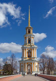 Belltower of Ryazan Kremlin. Central Russia Stock Photo