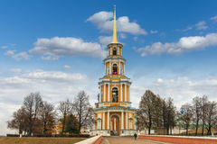 Belltower of Ryazan Kremlin. Russia Stock Image