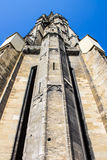 The Belltower of the Saint-Michel Basilica in Bordeaux, France Royalty Free Stock Image