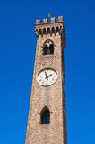 Belltower. Santarcangelo of Romagna. Emilia-Romagna. Italy. Stock Photography