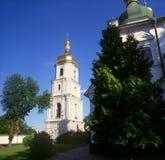 belltower sophia ST Ουκρανία καθεδρικώ&nu Στοκ φωτογραφία με δικαίωμα ελεύθερης χρήσης