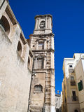 Belltower of the St. Chiara Church. Bari. Apulia. Stock Photo