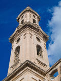 Belltower of St. Leonard convent. Monopoli. Apulia Royalty Free Stock Photography