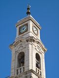 Belltower of St.Rocco Church. Trani. Apulia. Royalty Free Stock Photos