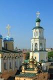 Belltower und Kirche Kasan, Tatarstan, Russland Stockfoto