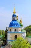 Belltower of Vydubychi Monastery, Kyiv, Ukraine Stock Photography