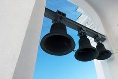 Belltower w kościół Obrazy Royalty Free